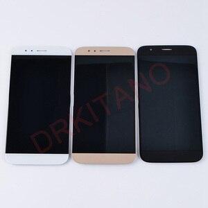 Image 2 - Per Huawei G8 Display LCD GX8 RIO L01 L02 L03 di Tocco Digitale Dello Schermo di Ricambio Per Huawei G8 LCD Con Cornice di Ricambio parti