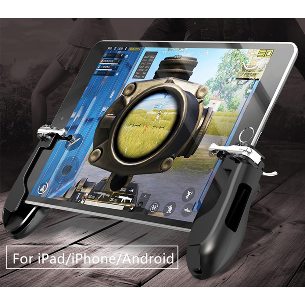 Game Accessories Hand Grip L1R1 Trigger Aim Key Gamepad PUBG FPS Game For iPad Mini 5 Air Tablet Smart Phone