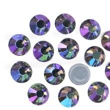 AB noir diamant strass sur verre | Correctrice, verre, couture cristal bricolage scintillants, strass et diamant, fer sur le vêtement, costume de vêtement