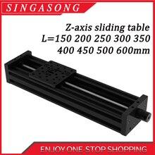 3d Printer Openbuilds Z axis Lead Screw T8 Z Axis Diy C beam CNC Sliding Table 300mm 400mm 350mm Linear Actuator Bundle Kit