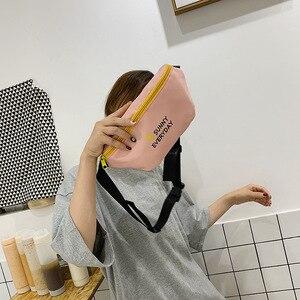 Image 3 - JIULIN Dei Bagagli sacchetto di stoffa Sacchetto obliquo Signora Baitieins Estate Xiaoqing moda alla moda del seno sacchetto di 2019