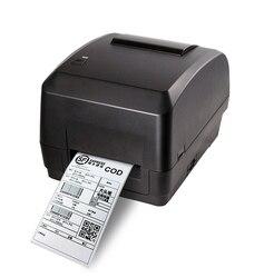 Drukarka termotransferowa obsługuje papier do etykiet termicznych o szerokości 25mm-108mm  papier powlekany  srebrny papier  drukowanie znaków prania