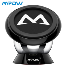 Mpow Magnetic Car Phone Holder Universal Mount 360 Degree Max Bearing Capacity 250g For iPhone X /8/7/6 Plus