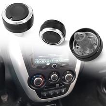 3 個用 Lada グランタ AC エアコンノブステッカーアクセサリー