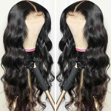 Brazilian Body Wave 13x4 Lace Frontal Human Hair Wigs For Black Women 4x4 Lace Closure Wigs Pre Plucked with Baby Hair