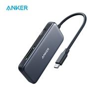 Anker-Hub USB C 5 en 1, adaptador USB C, con USB tipo C a HDMI 4K, lector de tarjetas SD y microSD, 2 puertos USB 3,0