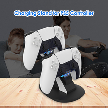 Dual Game Controller Charger Dock Charging Stand for Sony PS5 Joystick Gamepad Electronic Machine Accessories