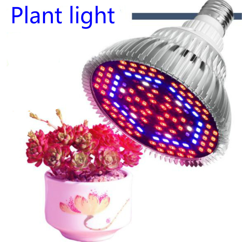 High Efficient LED Grow Llight Full Spectrum E27 110V 220V 30W 50W 80W SMD5730 Plants Lamp For Flower Plant Indoor Lighting