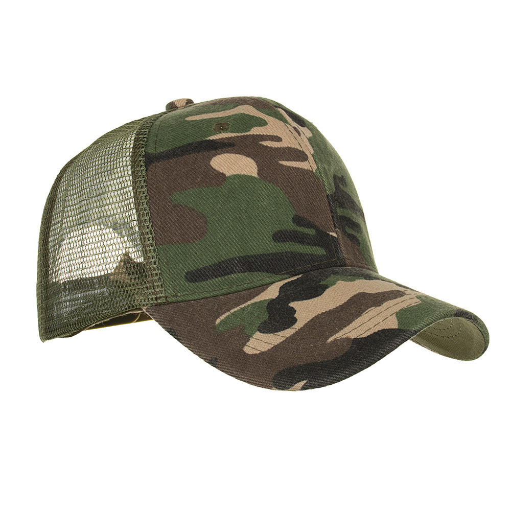 Camouflage Ponytail Baseball Cap 2020 Messy Bun Hats For Women Men Snapback Caps Casual Summer Sun Visor Outdoor Hat Gorras Casquette 6