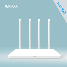 ZBT WE1688 2.4G موزع إنترنت واي فاي لاسلكي للمنزل/شقة موبايل راوتر واي فاي لاسلكي 300mbps MTK7628 إشارة قوية راوتر