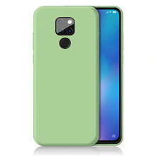 For Huawei mate 20 pro Color Silicone soft  Case  LITE Back Cover For Mate 30 Lite 30 LITE 2019 Phone Case 2020 huawei mate 20 lite case huawei mate20 lite case transparent soft case for huawei mate 20 lite sne lx1 silicone phone case 6 3