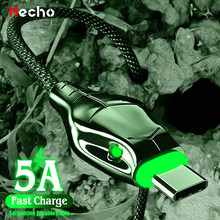 Hecho-Cable USB tipo C de carga rápida 5A, Cable de datos Micro USB para iPhone 12, Xiaomi, Huawei y Samsung