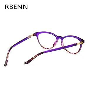 Image 3 - RBENN Cat Eye Reading Glasses Women Blue Light Blocking Presbyopia Eyeglasses for Female Anti Blue Rays Reading Glasses +1.75