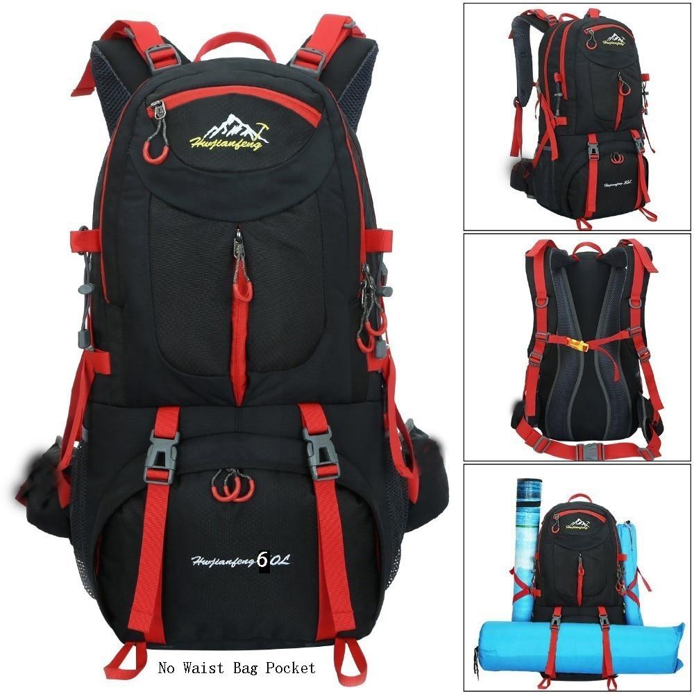 60l Camping Hiking Travel Riding Waterproof Hiking Backpacks 2