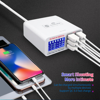 AC100V 240V 6 Port USB Fast Charger Phone Repair Tool Sets for iPhone iPad Samsung Mobile Repair Tools Outillage