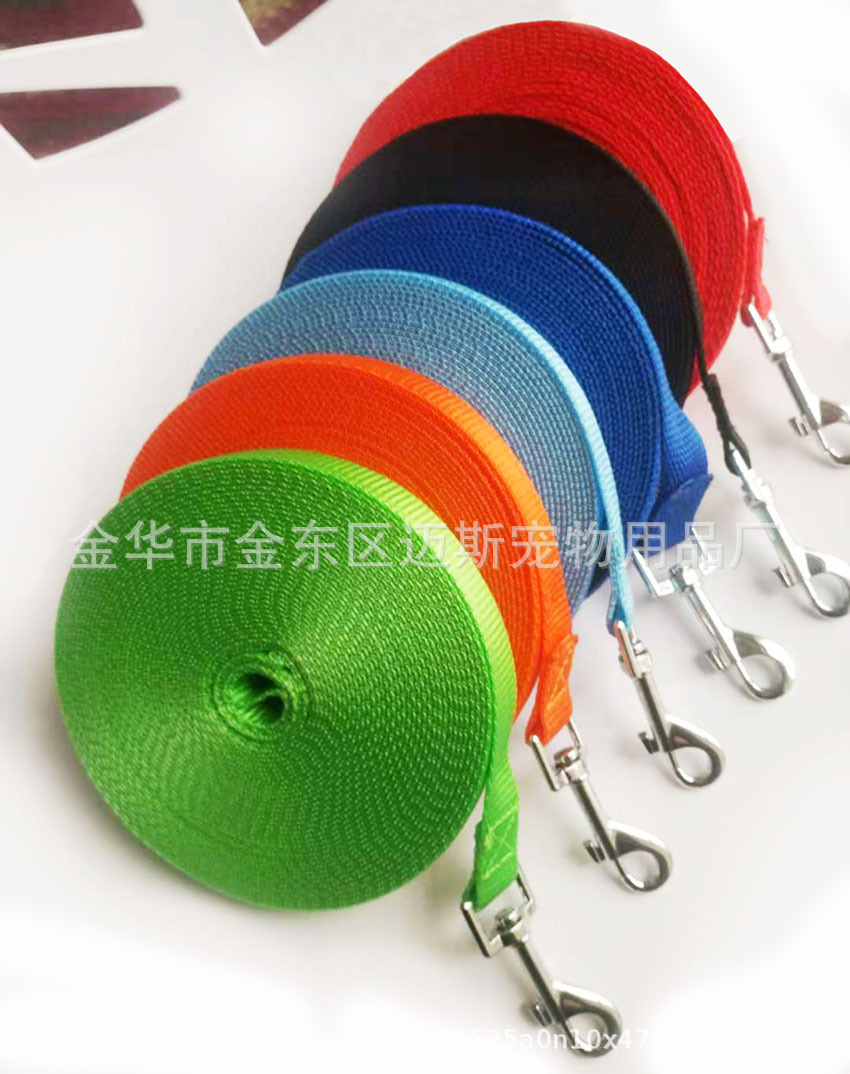 Manufacturers Training Tracking Lanyard Dog Training Tracking With 3 M 5 M 10 M 15 M 20 M Lengthen Hand Holding Rope Dog Leash
