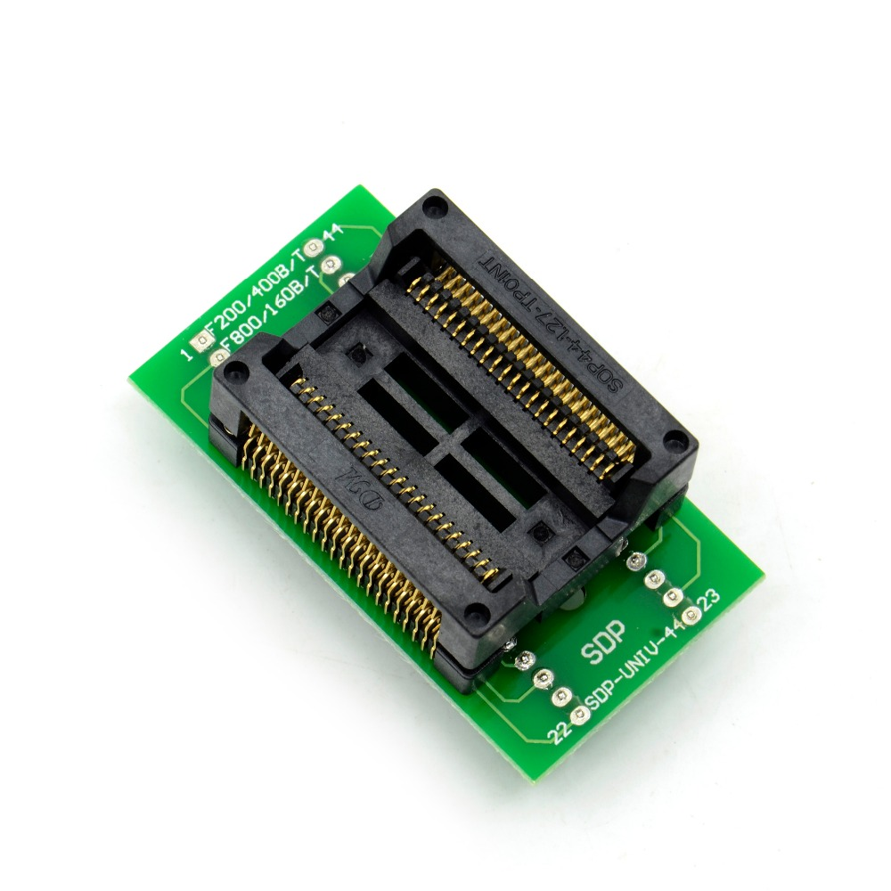 PSOP44 To DIP44/SOP44/SOIC44/SA638-B006 IC Test Socket Adapter For RT809H Programmer