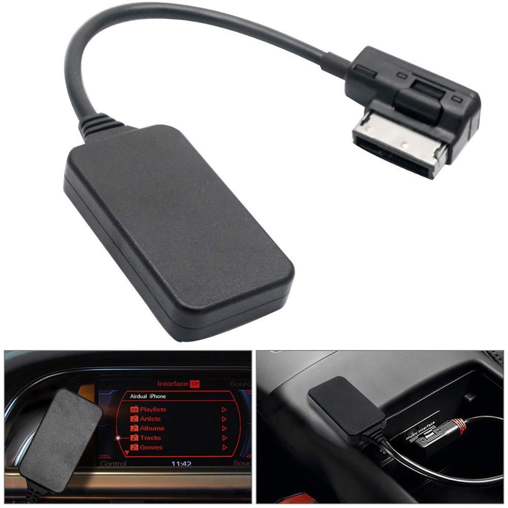 Interface Audio de musique de voiture d'adaptateur de câble Aux Audio d'ami MMI Bluetooth pour Audi A7 R7 S5 Q7 A6L 8L/4L