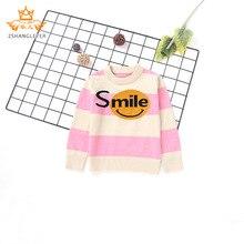 Пуловер с вырезом лодочкой для больших мальчиков, свитер, детская трикотажная одежда с длинными рукавами на осень и зиму в Корейском стиле INS