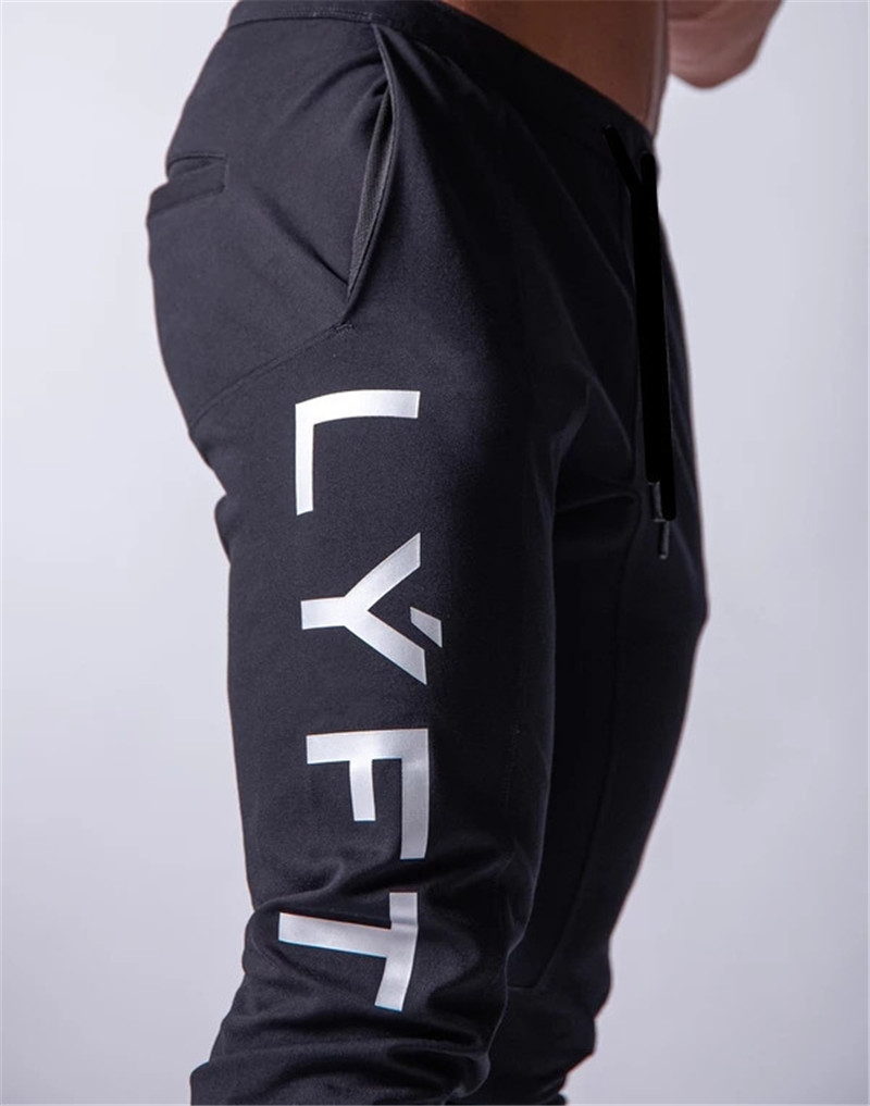 JAPAN Brand Joggers Men Sweatpants Gym Running Pants Mens Fitness Bodybuilding Gym Men Jogging Pants Zipper Sweatpants Trousers