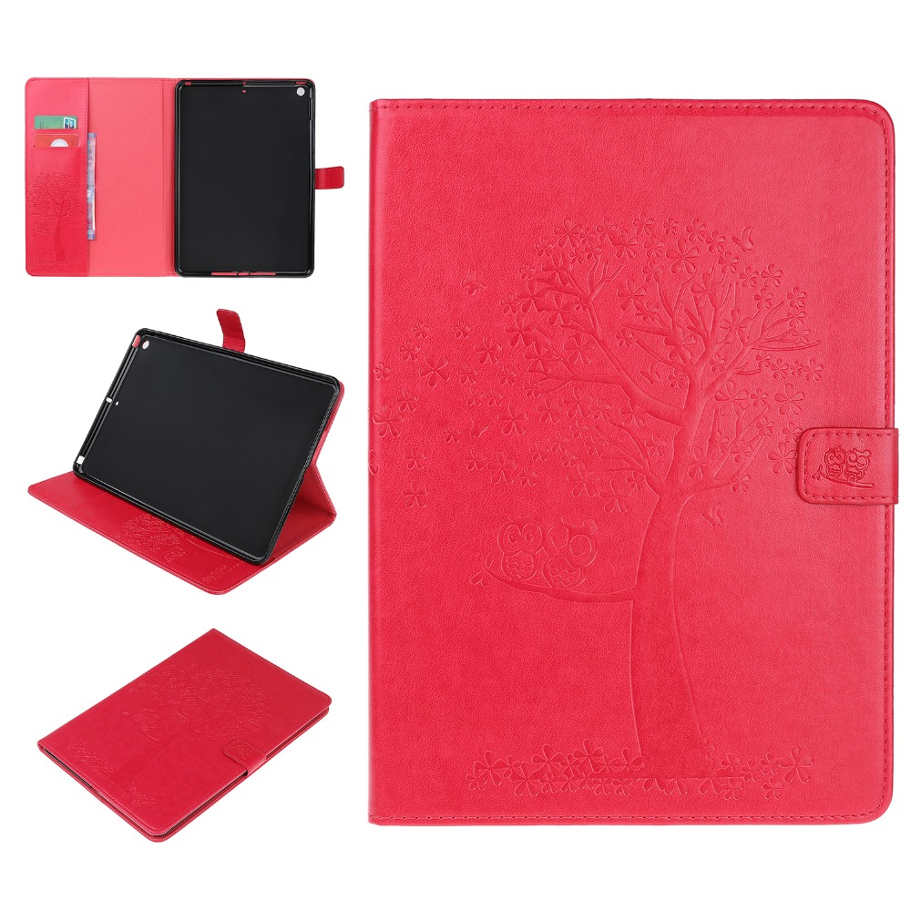 Auto Leather Folio For iPad 2019 Stand Case For iPad inch PU Sleep Smart 7th Cover 10.2