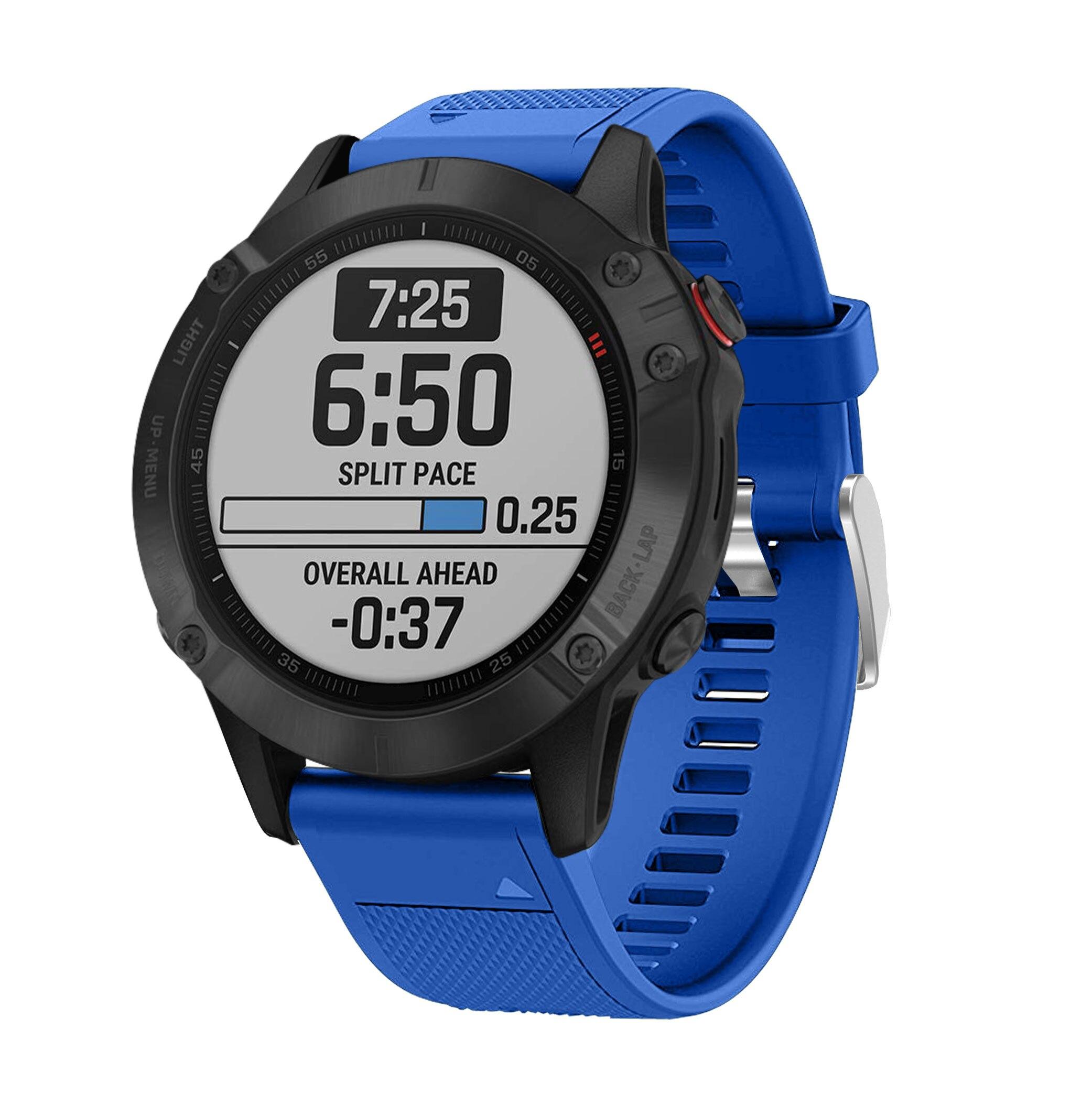 Watchband Strap bracelet for Garmin Fenix 6X 6 6S 3 3HR 935 945 Quatix 5 Smart Quick Release Silicone Easyfit WristBand Strap