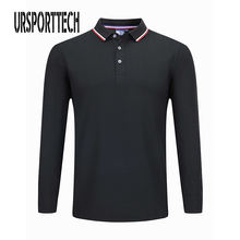 Ursporttech рубашка поло для мужчин размера плюс 3xl 4xl весна