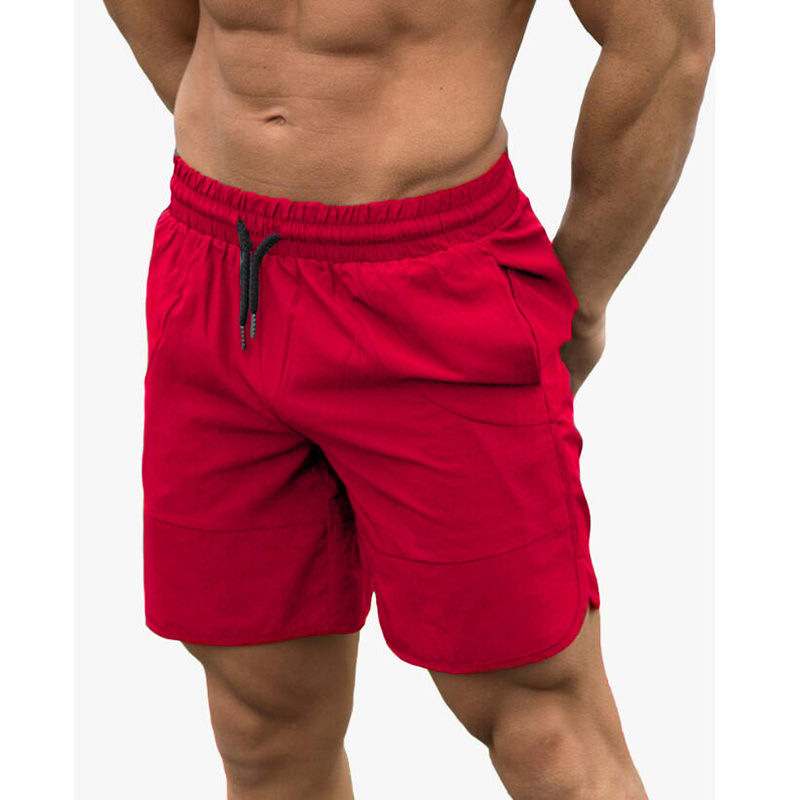 Fitness Shark Summer Jogger Shorts Men Patchwork Running Sports Workout Shorts Quick Dry Training Gym Athletic Shorts 11