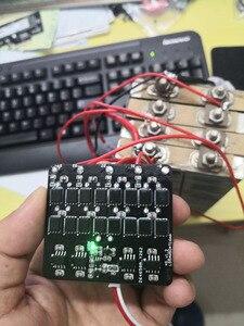 Image 5 - Equalizador ativo 3s 4S 5S, 6s, 7s, 8s, 6a, lifepo4, lítio, bateria de lipo, transferência de energia placa de proteção bms