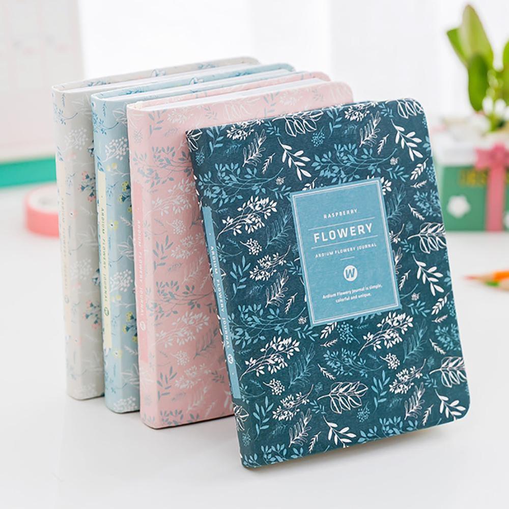 Agenda 2020 Korean Kawaii Vintage Flower Schedule Weekly Monthly Plan Calendar Schedule Notebook Diary Book Account Book A6