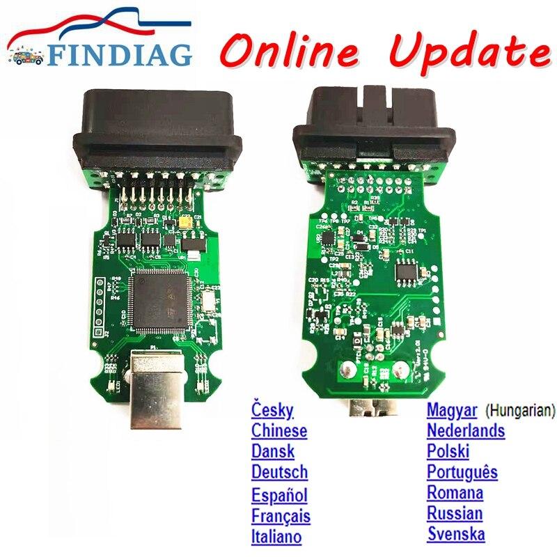 V2 stm32f405vgt6 chip versão mais recente atualização on-line stm32f405 suporte 15 idiomas tokens ilimitados mais estável do que v20.4.1