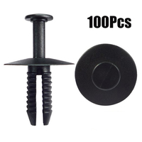 100pcs Car Rivets Bumper Parts For BMW 51118174185 Sill Wheel Arch Clips Retainer 20mm*17mm|Lift Kits & Parts| |  -