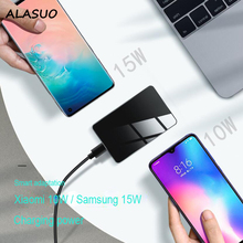 15W Qi Wireless Charger for Samsung IPhone X XR XS Max Fast Wirless Charging for Huawei Xiaomi Phone Qi Charger Wireless for glc wireless charger 15w power c class charger mobile phone fast charging adaptor2015 2019 c63 c180 c200 w205 car qi charger