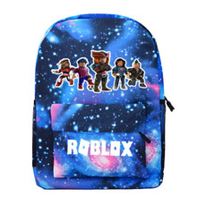 Robloxer game casual backpack for teenagers Kids Boys Student School Bags travel Shoulder Bag Unisex Laptop Bags Kid(China)