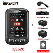 iGPSPORT IGS620 GPS Cycling Computer WIFI GPS IPX7 Waterproof ANT+ Bicycle Computer Bluetooth4.0
