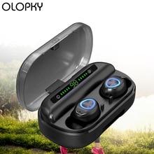 цена на TWS Headphones Bluetooth Wireless Earphones Bluetooth Headphones With Microphone Auriculares Bluetooth HiFi For Sports Running