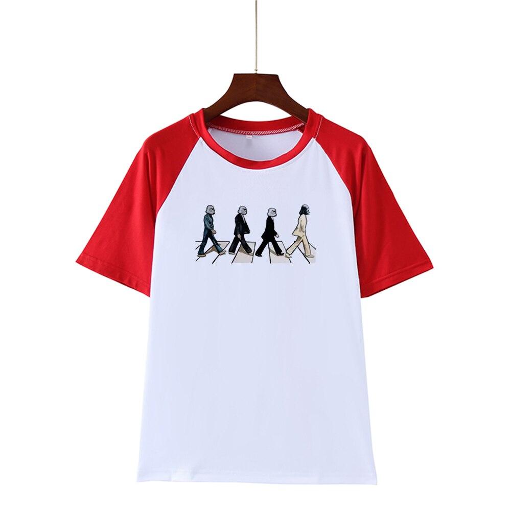 Beatles Abbey Road Camiseta Men Tshirt Plus Szie New Brand Clothing T-shirt Homme Fitness Summer Tops Casual Print Mens T-shirts