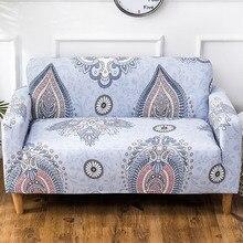 Funda de sofá geométrica Vintage fundas de sofá de algodón fundas de sofá para sala de estar sofá funda de sofá 1/2/3/4 plazas