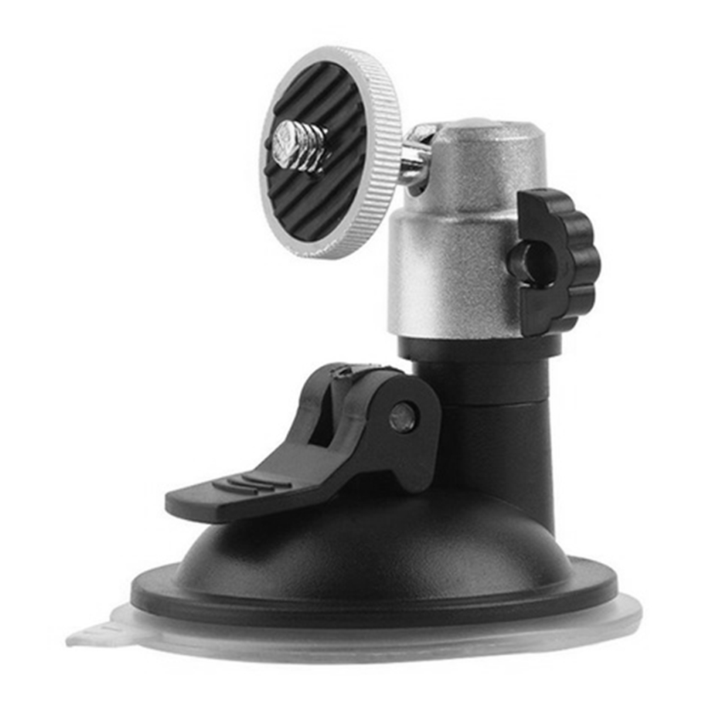"""Car Auto Flexible Windshield Suction Cup Mount Holder Vehicle Window mounted rack 1/4"""" tripod mount for Camera Video DVR GPS-in GPS Stand from Automobiles & Motorcycles"""