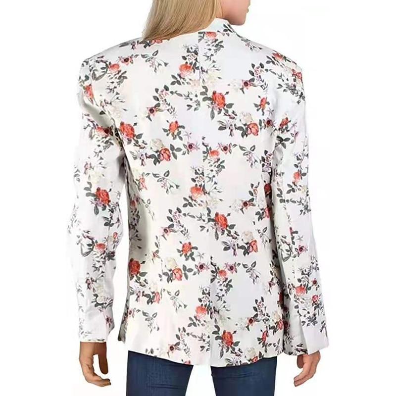 Hd5c261937f9c49cba5f6ab585ec9d4b74 Fashion Trend Women Lapel Leopard Print Long Sleeves Suit Jacket Elegant Fall Winter Office Lady Cardigan Coat Casual Streetwear