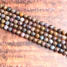 Peter Stone Natural Stone Beads Loose Stone Beads For Jewelry Making DIY Bracelets Necklace Accessories 4/ 6/8/10mm