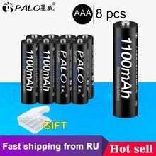 PALO, 4 шт., 8 шт., 16 шт.,, 3А, AAA, аккумуляторная батарея, 1100 мА/ч, 1,2 в, AAA, NIMH, аккумуляторная батарея, батарея 3A, батарея