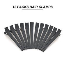 12 sztuk spinki do włosów spinka do włosów fryzjerstwo zaciski do cięcia stylizacja klipsy do zębów dla dziewczynek akcesoria do włosów dziewczyny akcesoria do włosów tanie tanio 12pcs Z tworzywa sztucznego