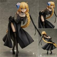 24cm Japanischen Fate Grand Auftrag Joan von Arc Saber Geist Kleid Ver Modell PVC Dekoration Anime Action Figure Sammlung puppe Neue