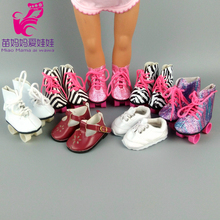Doll-Shoes Boots Born Baby Mini 18inch for 43cm Skiing Girl