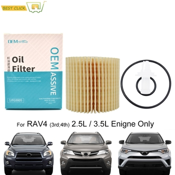 04152-YZZA1 Oil Filter For Toyota RAV4 XA40 2013 2014 2015 2016 2017 2018 2.5L 4Cyl. 2494CC Engine Protector Styling image