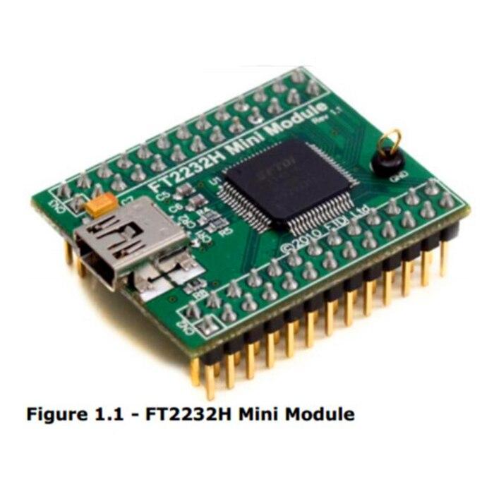 FT2232HQ_MINI _ Modules d'évaluation de MODULE I2C, SPI, UART, USB