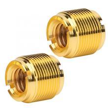 2 шт. микрофон винт 5/8in Мужской до 3/8in женский шуруп адаптер для микрофонная стойка зажим аксессуары