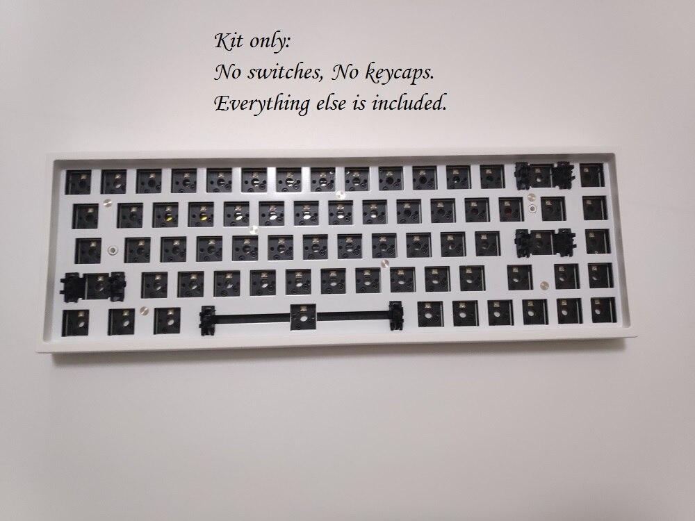 Keydous NJ68 Programmable Bluetooth 68 Mechanical Keyboard Hot Swap Keyboard Kit