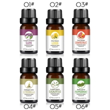 Natural Essential Oils Pure 10ml Glass Bottle For Diffuser B